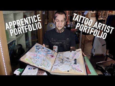 Apprentice Portfolio / Tattoo Artist Portfolio / Tips and Advice