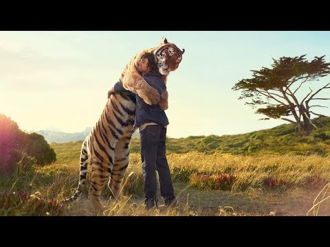 Funny Wild Animals Love & Cuddle Human |  Wonderful Moments, MUST SEE!