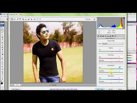 How to open camera raw in photoshop cs3