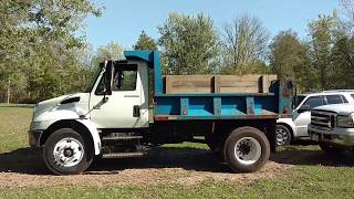 2005 INTERNATIONAL 4300 DT466 NO ITS NOT YOUR IDM
