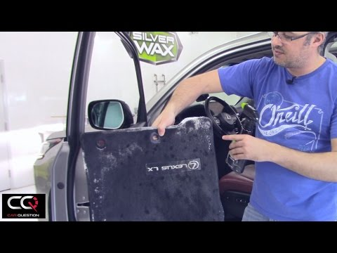 How to remove salt stains from car's floor mats / Rug / Carpet | Silverwax Salt Stain Cleaner