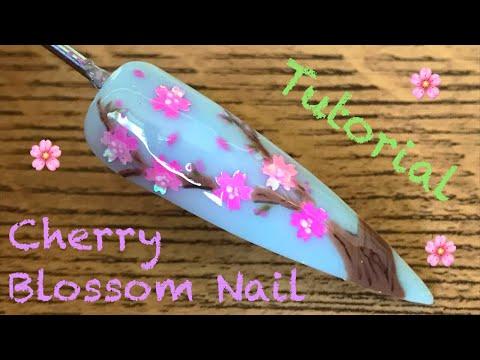 🌸 Cherry Blossom Nail 🌸 | Nail Sugar | Nail Tutorial