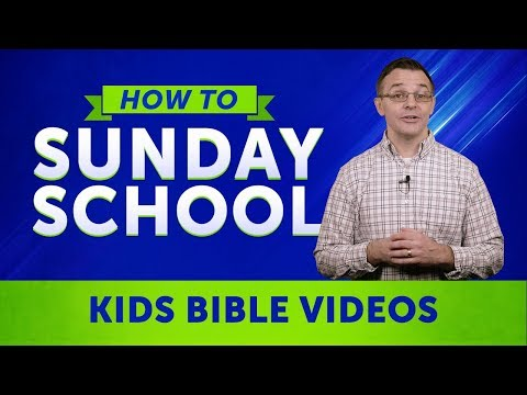 How To Sunday School: The Power of Kids Bible Videos In Sunday School Classrooms | Sharefaith.com