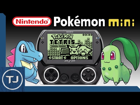 Pokemon Mini Emulator For PSP! (Download)