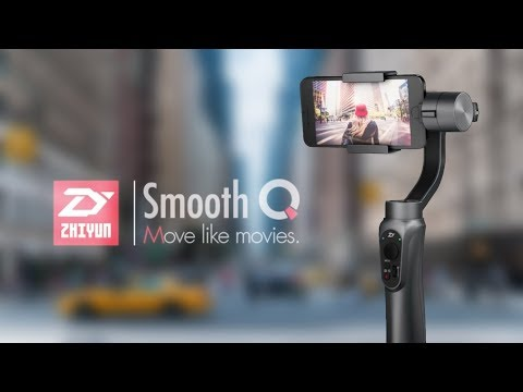 Zhiyun Smooth Q Gimbal - 3 Axis Smartphone Stabilizer Unboxing with Test Samples Footage