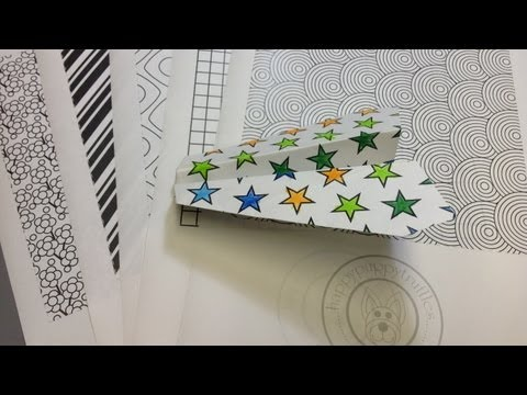 Free Origami Paper - Print Your Own! - Color Your Own