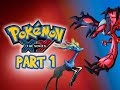 Pokemon X and Y Gameplay Walkthrough Part 1 - I ...