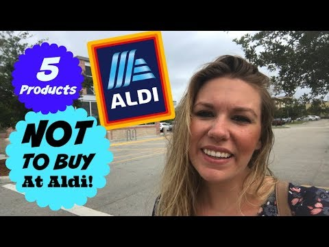 What Not To Buy At Aldi | Items I DON'T Buy At ALDI | COLLAB!