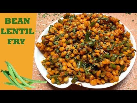 Dry Chana dal with Beans | सूखी चना दाल
