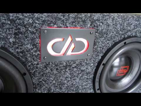 DIY Build Subwoofers Enclosure DD Audio LED Light