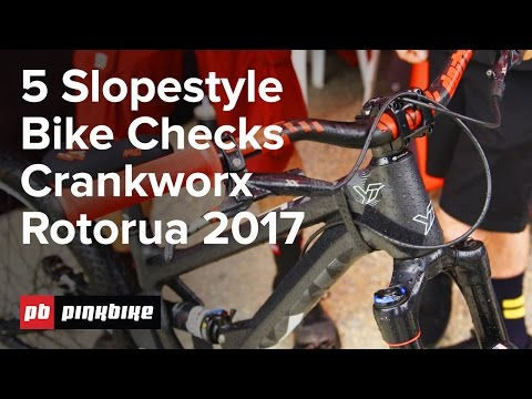 5 Slopestyle Bike Checks | Crankworx Rotorua 2017