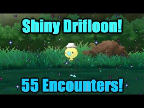 SHINY Drifloon 55 Encounters! Pokemon Ultra Sun & Ultra Moon