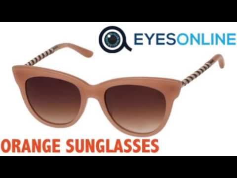 Orange Sunglasses Collection - EYESONLINE