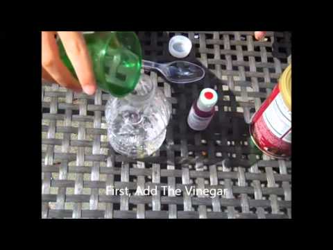 How To Make A Volcano In A Bottle With Mr. Chuck