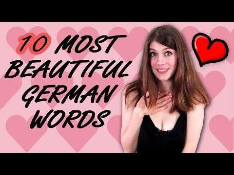 10 Most BEAUTIFUL German Words