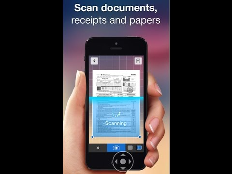 How to scan and send any documents from your iPhone to any emails