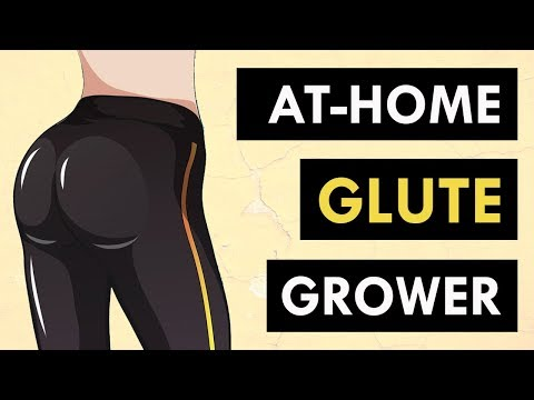 Bigger Glute Exercises At Home (No Weights Needed) | 9 Minutes To Target & Lift Your Butt!
