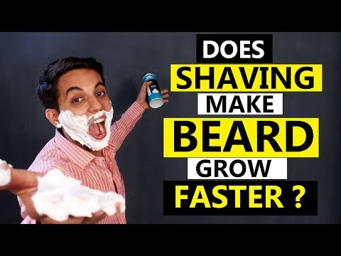 Does SHAVING increase BEARD growth ? SHOCKING ANSWER || Hindi