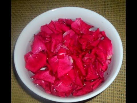 গোলাপজল তৈরি করুন নিজেই./ How to make rose water at home /DIY ROSE WATER