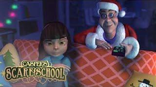 Caspers Haunted Christmas | Casper Scare School | 👻Kids Cartoon