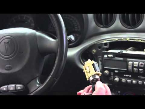 Ignition Lock Cylinder Replacement (GM N and W body cars w/ lock cylinder in dash)