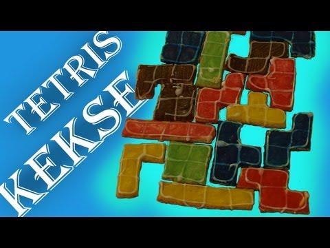 Backe Backe Tetris Kekse (Anleitung / Rezept) / baking baking Tetris cookies (instructions / recipe)