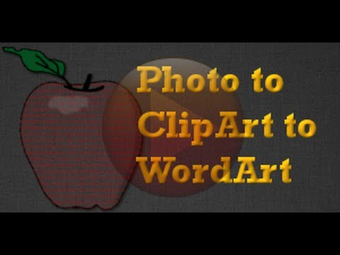 GIMP Project - Clip Art From a Photograph & How to Make Words into a ClipArt Shape - XDTutorials.com