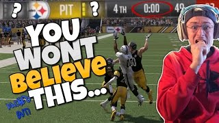 NO MATTER HOW HARD YOU TRY, YOU STILL WONT BELIEVE HOW THIS GAME ENDED... Madden 17 Packed Out Ep.4