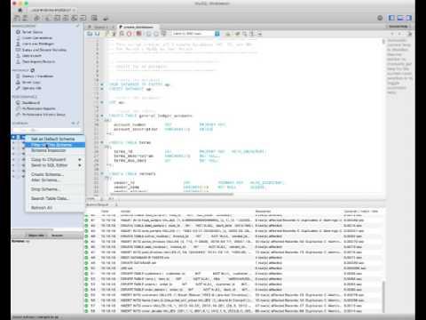 Tutorial: MySQL Workbench Backup, Restore, Unload, Reload
