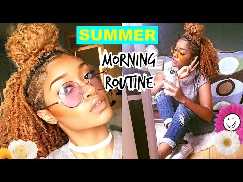My Summer 2015 Morning Routine