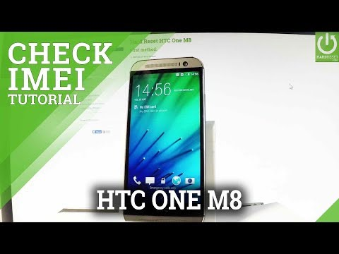 HTC One M8 Check IMEI / IMEI Information