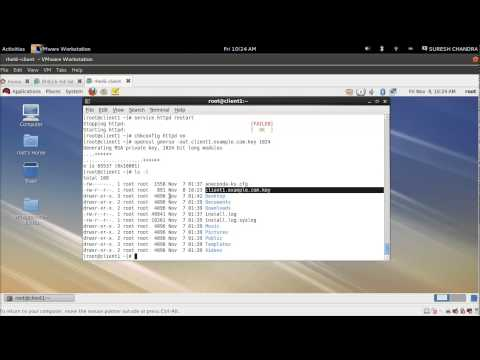 CA Server and Apache With SSL