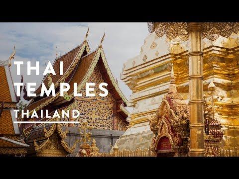 THAILAND TEMPLE | Chiang Mai Travel Vlog 047, 2017