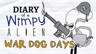 Diary of a Wimpy Alien 3 WAR DOG DAYS (Wimpy Kid / Alien / Predator Parody)