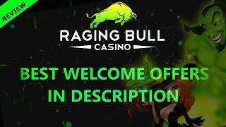 Raging Bull Casino \u0026 Slots Online Review 🥇  Best Bitcoin Casino 2021