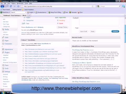 Yahoo Backlinks