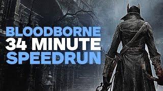 Bloodborne Speedrun in 34 Minutes