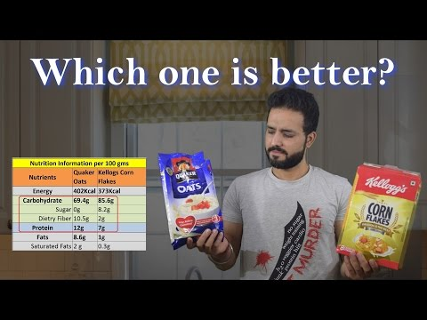 Oats Vs Corn Flakes | Which is a Better Breakfast? | Hindi