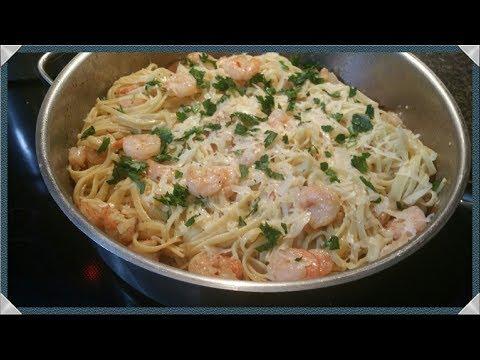 Shrimp Scampi Pasta Recipe/How To Make Shrimp Scampi