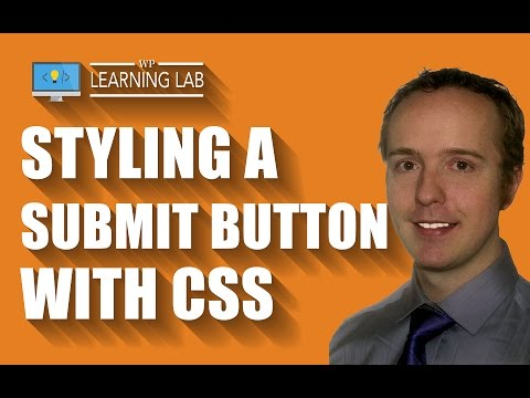 CSS Button Style For Submit Button CSS In Contact Form 7  | Contact Form 7 Tutorials Part 17