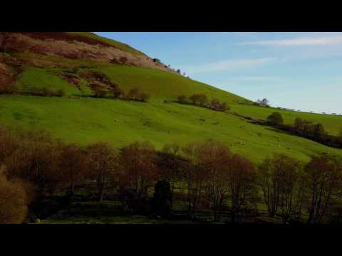 Wales by Drone. We flew the Mavic in Snowdonia and around Montgomery Castle in Powys