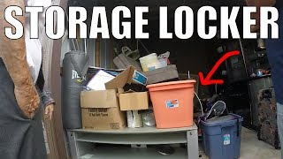 Checking Out a REAL Storage Auction & Trash Picking for Treasures!