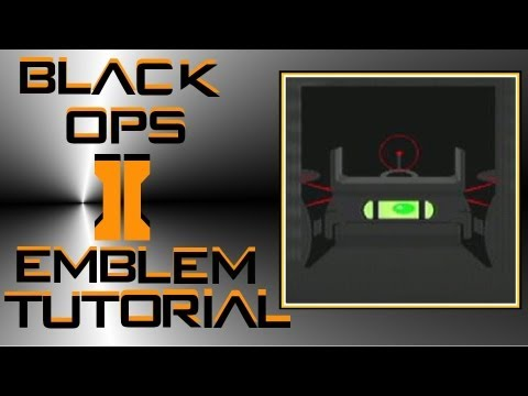 Call of Duty Black Ops 2 : Crossbow Sight Emblem Tutorial