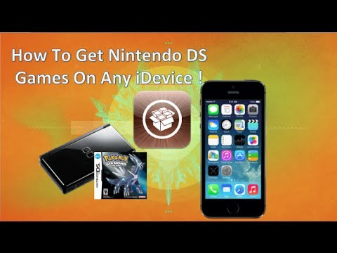 How To Get Nintendo DS Games For Free! ( Jailbreak Needed) (iPhone, iPod, iPad)
