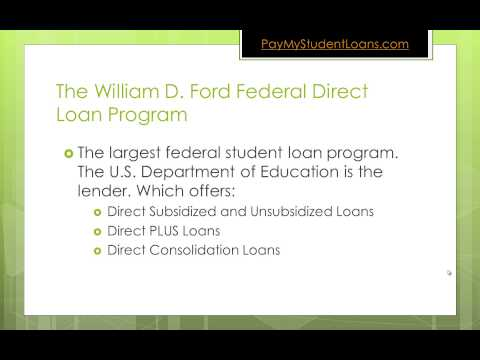 What Is The Difference Between Federal Direct and Perkins Student Loans
