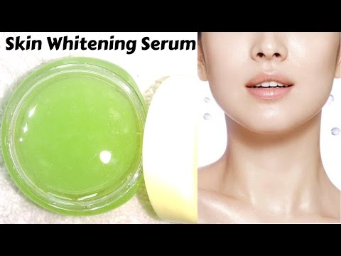 Skin Whitening Glow Serum At Home | Summer Special | Get Fair, Glowing And Shiny Skin Instantly