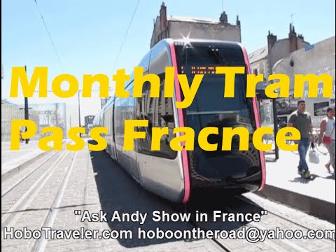 Strategy to Buy Month Pass for Tram and Bus in Tour France