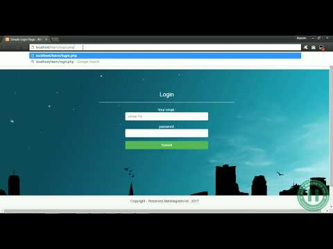 15 – Login PHP Page, PHP Session, Creating Member Page, SQL Commands for Querying Database