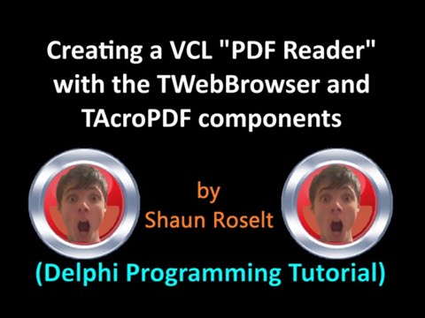 Creating a VCL