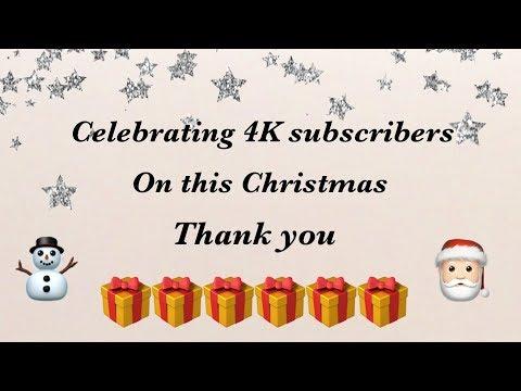 4K Subscribers On This Christmas   Priti Sharma